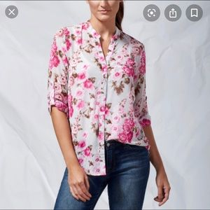 Kut from the kloth floral shirt